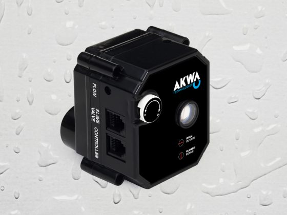 The AKWA Master valve is an automatic shut-off valve which can be installed Indoor or Outdoor