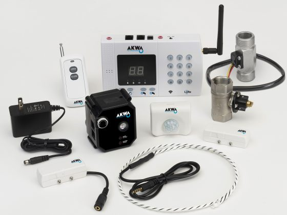 The AKWA Technologies system is a smart, reliable, performing solution which prevent water damages